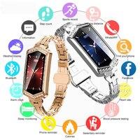 smart watch women Fitness bracelet Heart Rate tracker Monitor Pedometer bloodpressure oxygen smartwatch android watch Lady Girls