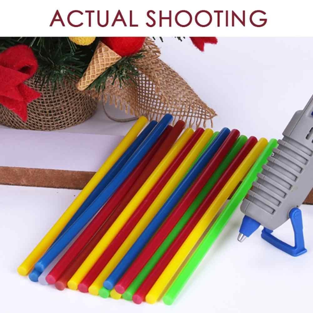 Varillas de pegamento de fusión caliente coloridas pistola de pegamento eléctrica herramientas de reparación de álbum para reparación de juguetes Manual de bricolaje