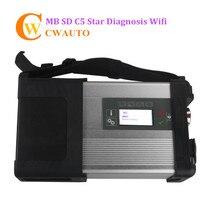 C5 SD MB SD Conecta el acuerdo 5 Star Diagnosis con WIFI para Autos y Camiones sin Software HDD Envío Gratis