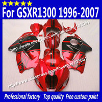 Hayabusa High Grade For 1996 2007 SUZUKI GSXR1300 Fairing GSXR 1300 Fairings 99 07 Black With
