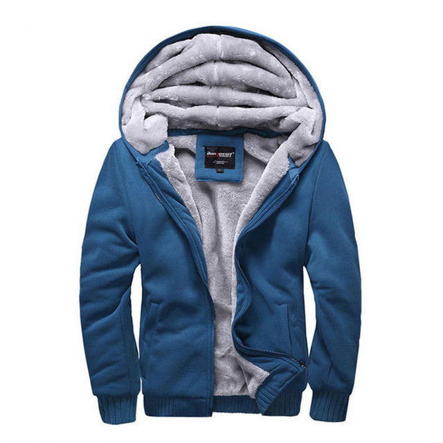 2016 New Men's Winter Palace Coats Long Sleeve Hoodie Casual Thrasher Sweatshirt Plush Thicken Men's Hoodies Thicken Hoodies men