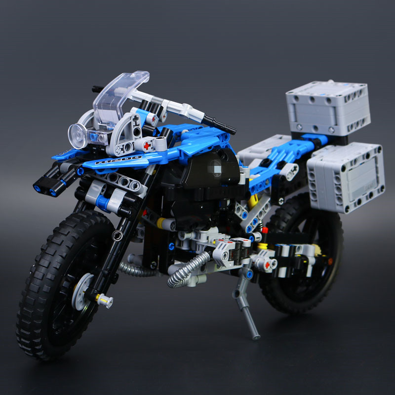 IN STOCK Lepin 20032 603pcs Technic Series The BAMW Off-road Motorcycles R1200 GS Building Blocks Bricks Educational Toys 42063 decoo 3369 technic series the bamw off road motorcycles r1200 gs building blocks bricks educational toys lepin 20032 b11
