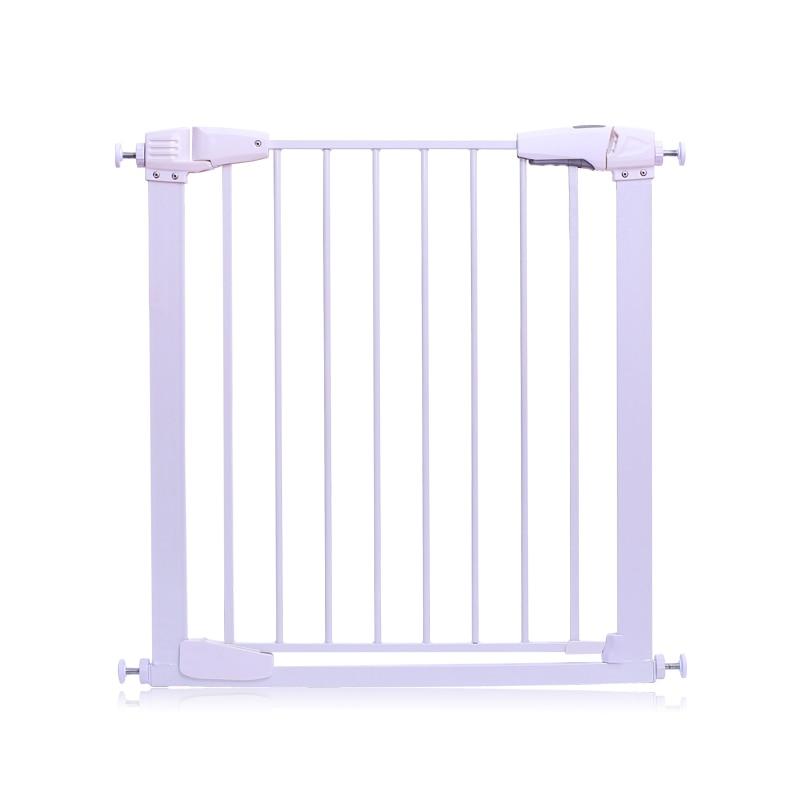 EUDEMON 65 ~ 83 centimetri Bambino cancello bambino recinzione pet cane recinzione valvola di intercettazione griglia ringhiera cancello di sicurezza del bambino