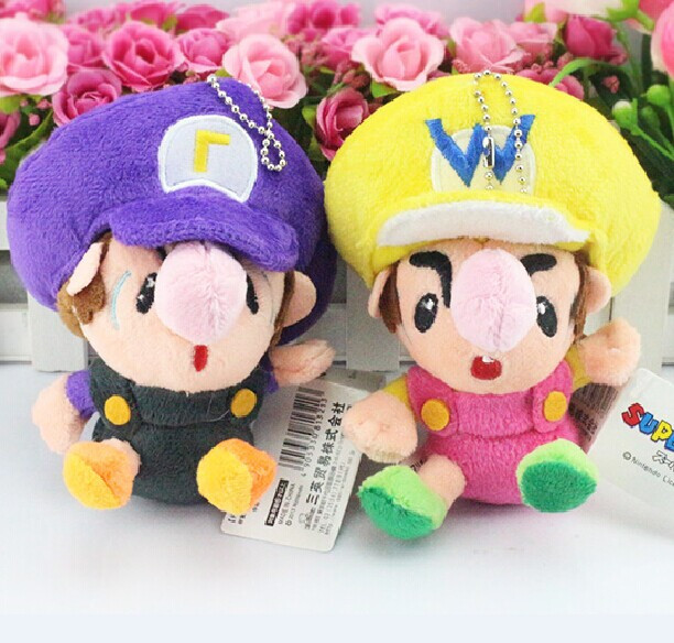Baby Wario And Baby Waluigi Plush