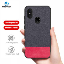 PHOPEER Case for Xiaomi Mi 8 Mi8 Lite soft silicone edge fashion fabric shockproof cover case xiaomi mi SE Explorer