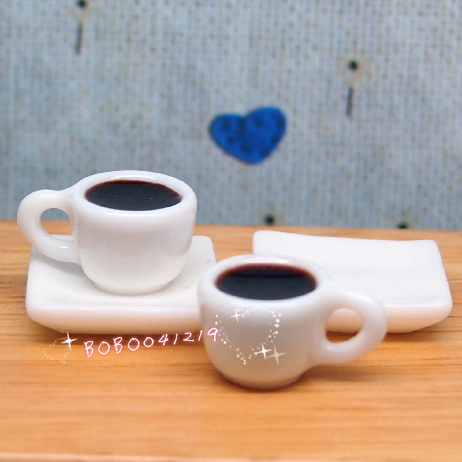 aliexpress dollhouse miniature kitchen drink 2 cups of