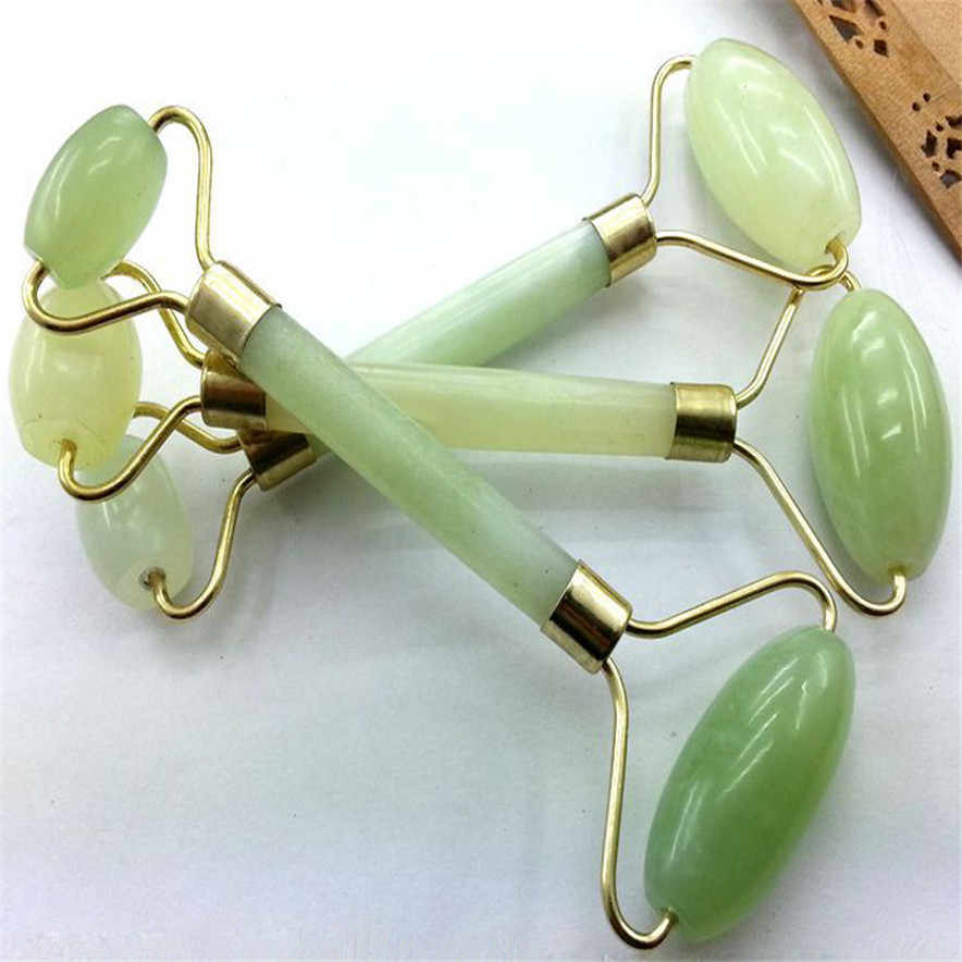 Facial Massage Jade Roller Face Body Head Neck Nature Beauty Device Delay skin aging Promote blood circulation Z0426 5.5 080