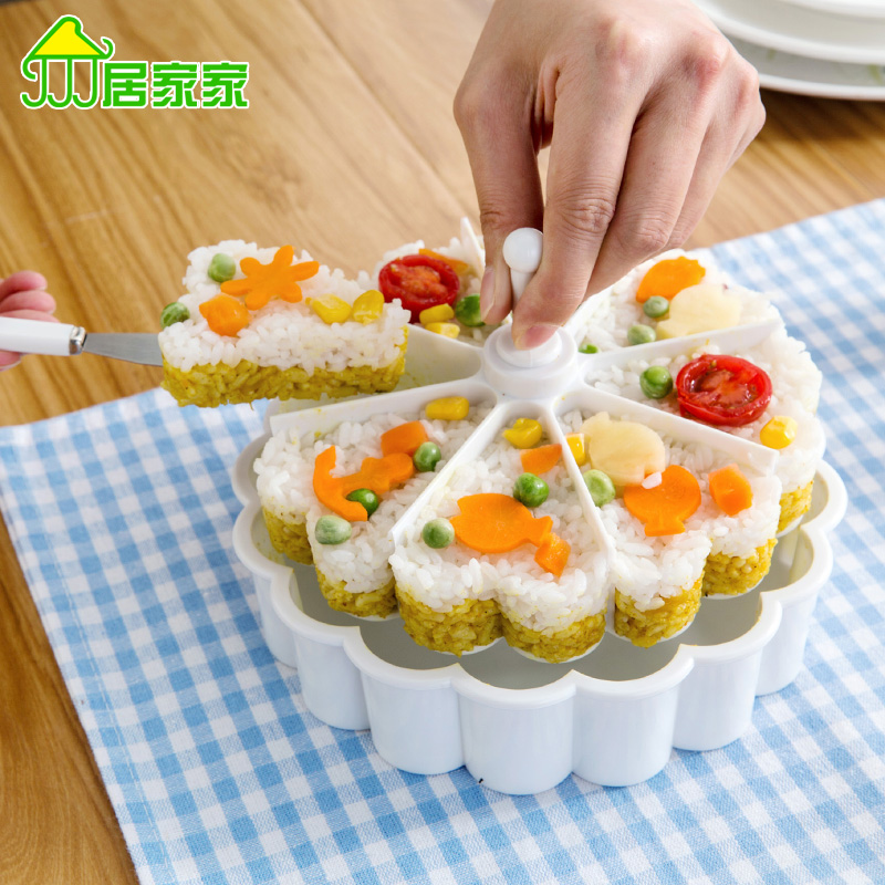 Sushi rice balls mold Children s Creative Kitchen Tools lunch baked cake abrasive