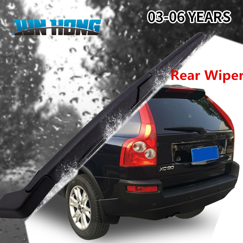 JunHong Rear Windscreen Wiper Blade And Arm For Volvo <font><b>XC90</b></font> <font><b>2003</b></font> 2004 2005 2006 Windscreen Wiper image