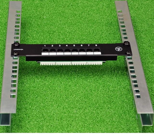 Low Profile Open Frame Rack Pair Sticks For 1U .
