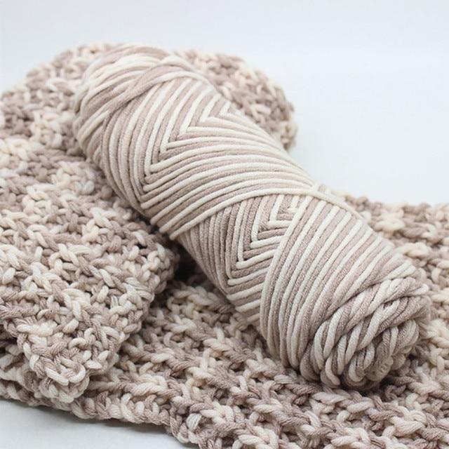 100g Chunky Wool Roving Scarf Knit Wool Yarn Thickness Warm Hat
