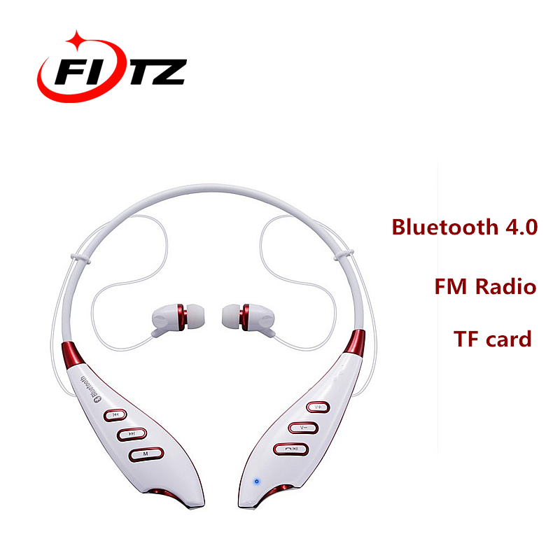 Wireless Bluetooth 4.0 Sport Stereo Headset Heaphone Earphone Support FM TF Card Handsfree With Microphone For iPhone Samsung LG bq 618 wireless bluetooth v4 1 edr headset support handsfree earphone with intelligent voice navigation for cellphones tablet