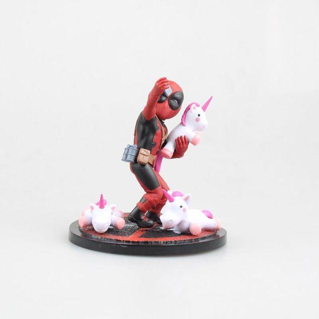 Deadpool Unicorn Collectible Figure 4inch. 2