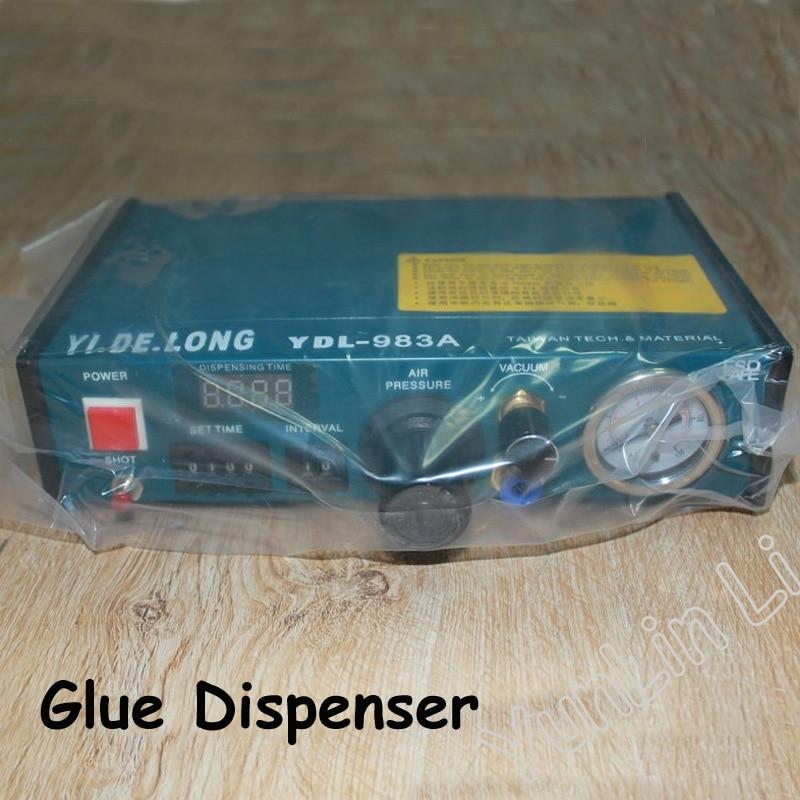 110V 220V Auto Glue Dispenser Solder Paste Liquid Controller Dropper Dispensing System YDL 983A