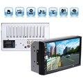 "2DIN Автомобиля Bluetooth Audio 7 ""HD Радио В Тире Жестким Экраном Стерео поддержка MP3 MP5 Mp3-плеер USB TF AUX"