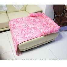 Venxuis takaró virágos nyomtatási kutya szőnyegek Pet autószék kutya szőnyegek Pet autószék borító kanapé matosok Pet ágyak kanapék Drop Shipping