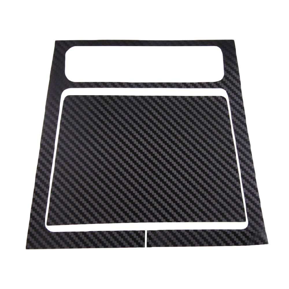 Car styling Car ashtray panel <font><b>stickers</b></font> For Volkswagen <font><b>Golf</b></font> <font><b>6</b></font> 2011 2012 Carbon Fiber Personalized <font><b>Stickers</b></font> Car Accessories 1Set image