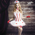 9705 Free Shipping New Cosplay Temptation to Nurse Women Sexy Lingerie Costumes Sex Products Toy Sexy Underwear Nurse Role Play