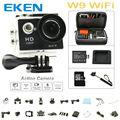 EKEN W9 wifi Кулачок Действия Full HD водонепроницаемая камера спорта DVR 1080 P мини видеокамера