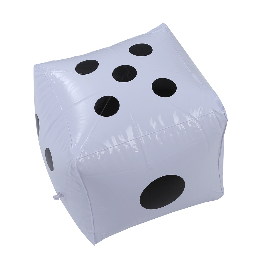 MACH 2pcs Big Inflatable Dice Pool Toy Party Favours---White