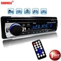 Автомобильный радиоприемник, стерео плеер, цифровой автомобильный MP3-плеер с Bluetooth, 60 Вт x 4, FM-радио, стерео, аудио, музыка, USB/SD, с входом AUX для ...