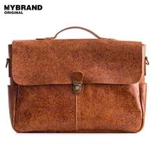 Mybrandoriginal натуральная кожа мужчины сумка Портфели Crossbody сумки для человека повседневная мужская сумка кожаная сумочка B124