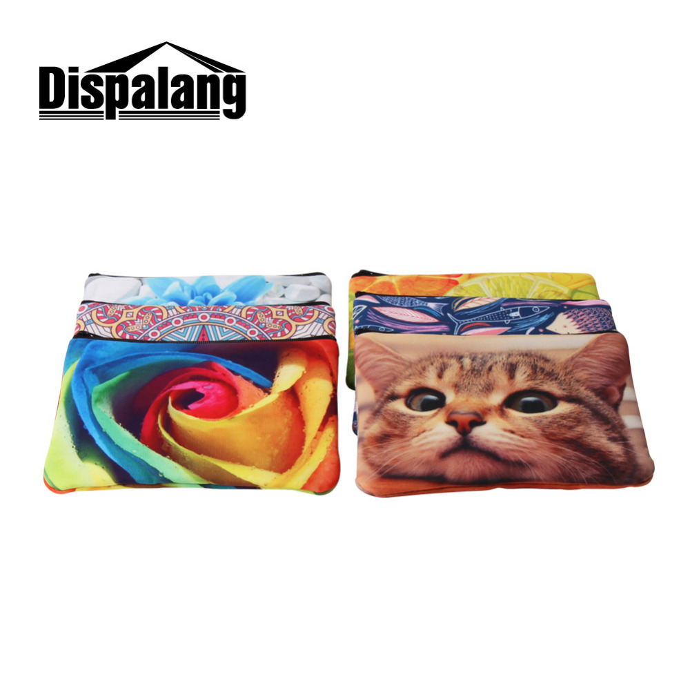 Dispalang Lizard Print Men Wallet Kids Coin Purse Card Holder Zipper Small Clutch Bags Casual Walet Money Bag Organizer purse