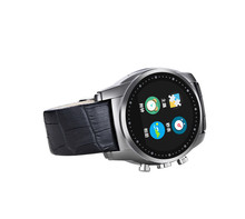 2016 Fashion Smart Watch A8 Support SIM Card Bluetooth Sim Watch Round Dial Alloy Material Leather Strap Smart Clock Vintage