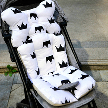 Baby Stroller Seat Pad Cotton Soft Car Seat Cushion Infant Child Cart Mattress Mat Kids Carriage Pram Liner Trolley Accessories