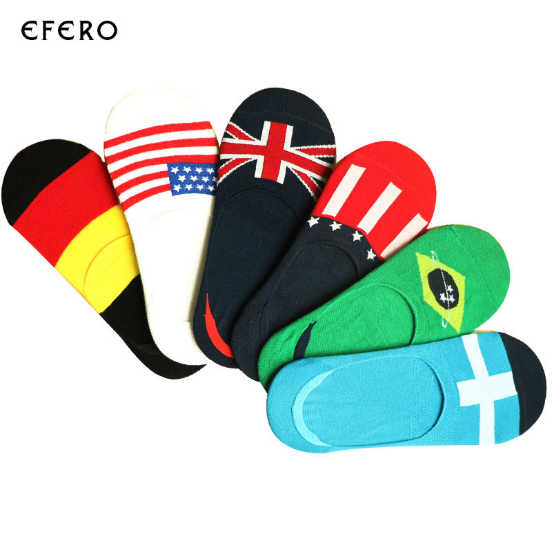 10Pair Fashion Invisibles Sock Slippers Summer Thin Socks Men Funny Socks Art Calcetines Mens Hip Hop 3D Sock Chaussette Homme