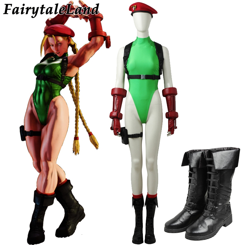 Street Fighter 5 Cammy White Cosplay Costume Hot game ...