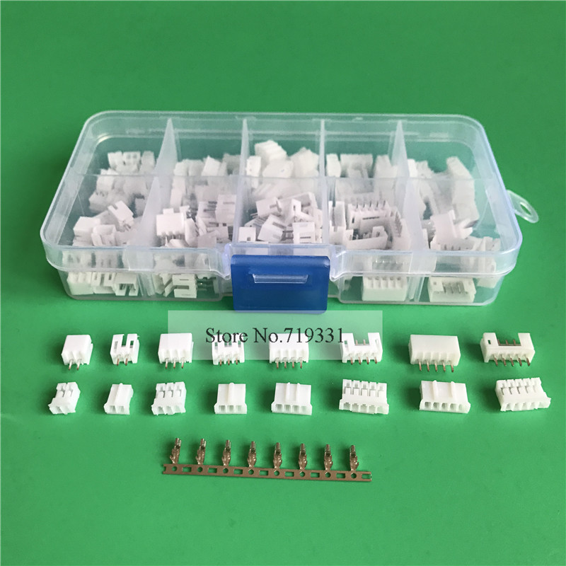 80 sets 2.0mm 2p 3p 4 pin 5p 2.0mm Pitch Terminal+ Housing+ Pin Header Connector Wire Connectors Adaptor PH 2P Kits 100sets lot connector ch3 96 molex 3 96 3pin 180 degrees top entry pitch 3 96mm pin header terminal housing ch3 96 3p