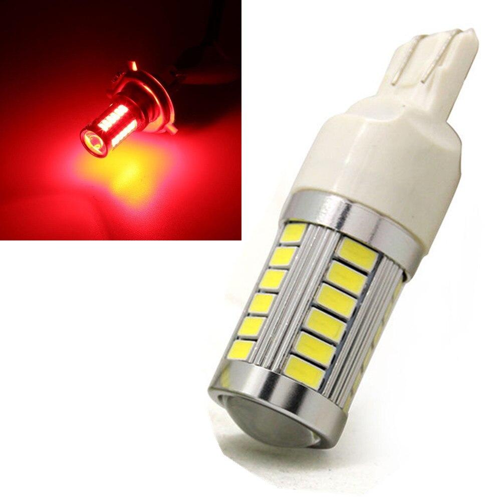 CYAN SOIL BAY 5730 Red T20 7443 7440 33 SMD 33SMD LED High Power Backup Reverse Turn Signal Fog Light Brake Bulb Lamp 12V 24V