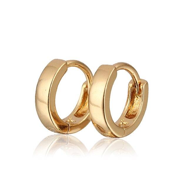 Aliexpress Verkauf Gold Farbe Hoop Ohrringe Für Mädchen/Kinder ...