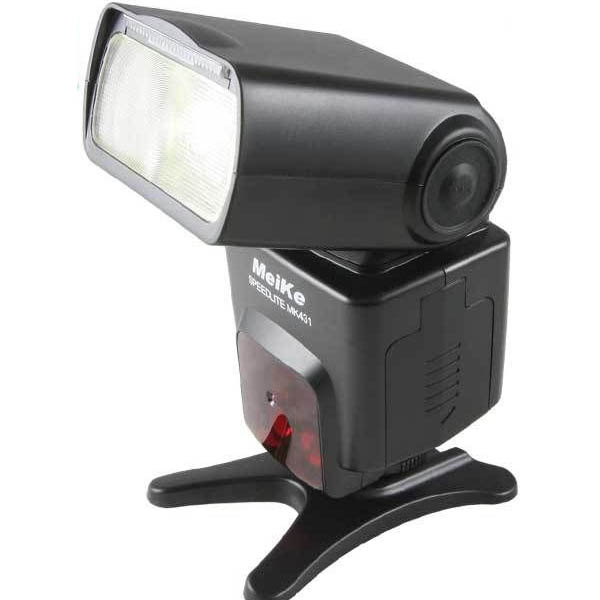 Meike MK-431 Universal TTL Flash Speedlite light for Nikon D3 D4 D600 D700 D800 D7100 D90 D80 вспышка для фотокамеры meike 570n speedlite speedlight 2 4 g rc9 nikon mk 570n