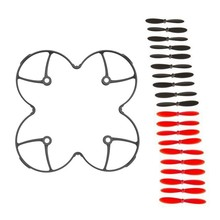 20pcs Hubsan X4 H107L H107C H107D Propellers Quadcopter Spare Blades Hubsan Protectiong guard