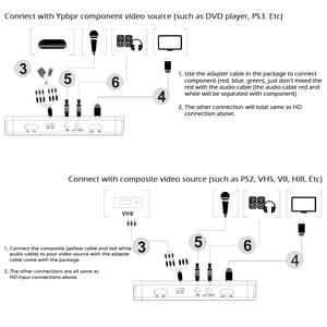 Image 5 - 1080P HD jeu vidéo Capture/enregistreur carte HD TV enregistreur vidéo avec télécommande Support micro USB disque pour DVD décodeur