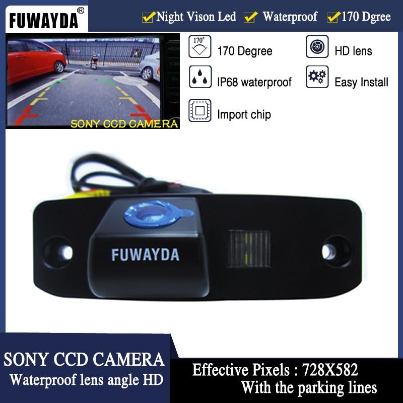 FUWAYDA SONY CCD Car Rear View Reverse  Parking Mirror Image CAMERA For KIA Carens/Borrego/Oprius/Sorento/Sportage R / KIA CEED