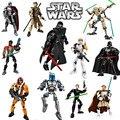 Figuras de Star Wars Darth Vader Storm Trooper Blanco General Grievous Figura juguetes bloques de construcción