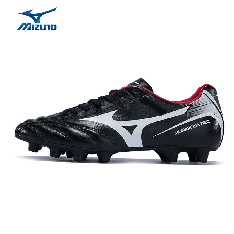MIZUNO Men's MONARCIDA NEO MD Soccer Shoes Wearable Support Sports Shoes Sneakers P1GA172401 YXZ057 2008 donruss sports legends 114 hope solo women s soccer cards rookie card