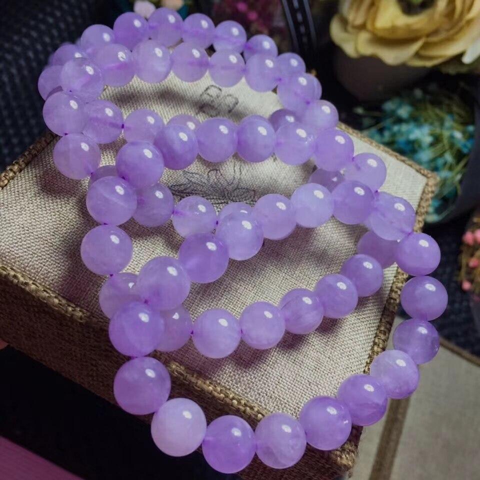 Beautiful- Lavender AMETHYST Bangle Bracelet Amethyst Jewelry- AMB-331 14x20 MM Rectangular Beads Bracelet Amethyst Stretchable Bracelet
