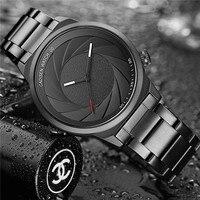Einzigartiges Design Fotograf Serie Luxusmarke Frauen Männer Unisex Armbanduhren Sport Gummi Quarz Kreative Casual Mode Uhr-in Quarz-Uhren aus Uhren bei