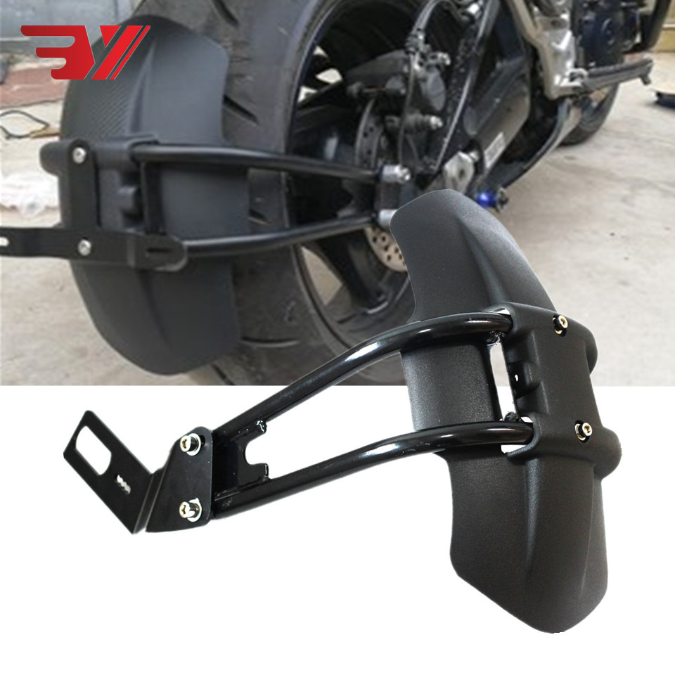 Motorcycle Accessories Aluminum Rear Fender Bracket Motorbike Protection Mudguard For YAMAHA MT03 MT07 MT09 MT10 MT125