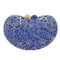 LaiSC blue clutch women party bags pochette ladies royal blue evening bag womanhood purse handbag SC310