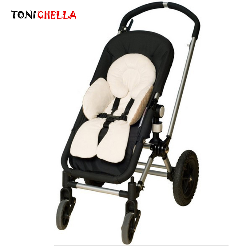 Baby Stroller Cushion Cotton Seat Infant Shoulder Belt Strap Cover Neck Protection Pad Toddler Head Body Support Car Seat BB3086