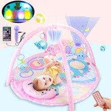 Tapis de sol pour bébé, Plat, contrôle à distance musical, jouet, gymnastique, doux, pour bébés, pour activité rampante, tapis de développement