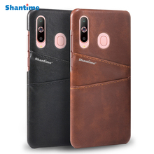 PU Leather Back Cover For Samsung Galaxy A20e Phone Case M20 Card Slot M30