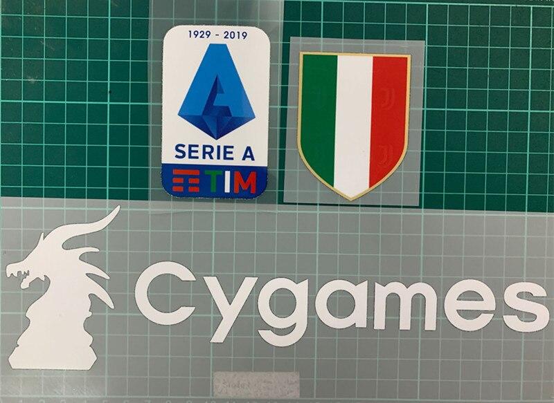 2019 Serie A TOPPA patches GOMMATA 2019 2020 SERIE A Lega