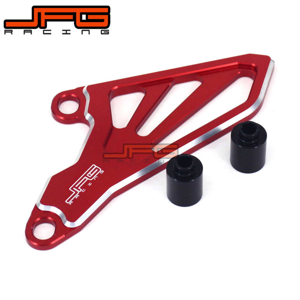 Billet CNC Front Sprocket Drive Cover Guard For HONDA CR250R 02-07 CRF250R 04-09 CRF250X 04-17 CRF450R 08 YZ125 05-17 YZ125X 17