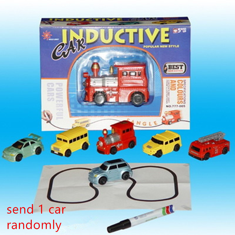 Hot-Engineering-Vehicles-Mini-Magic-Toy-Truck-Childrens-Inductive-Truck-Toys-Figure-Tank-Car-Pen-Draw-Lines-Induction-Rail-Car-5